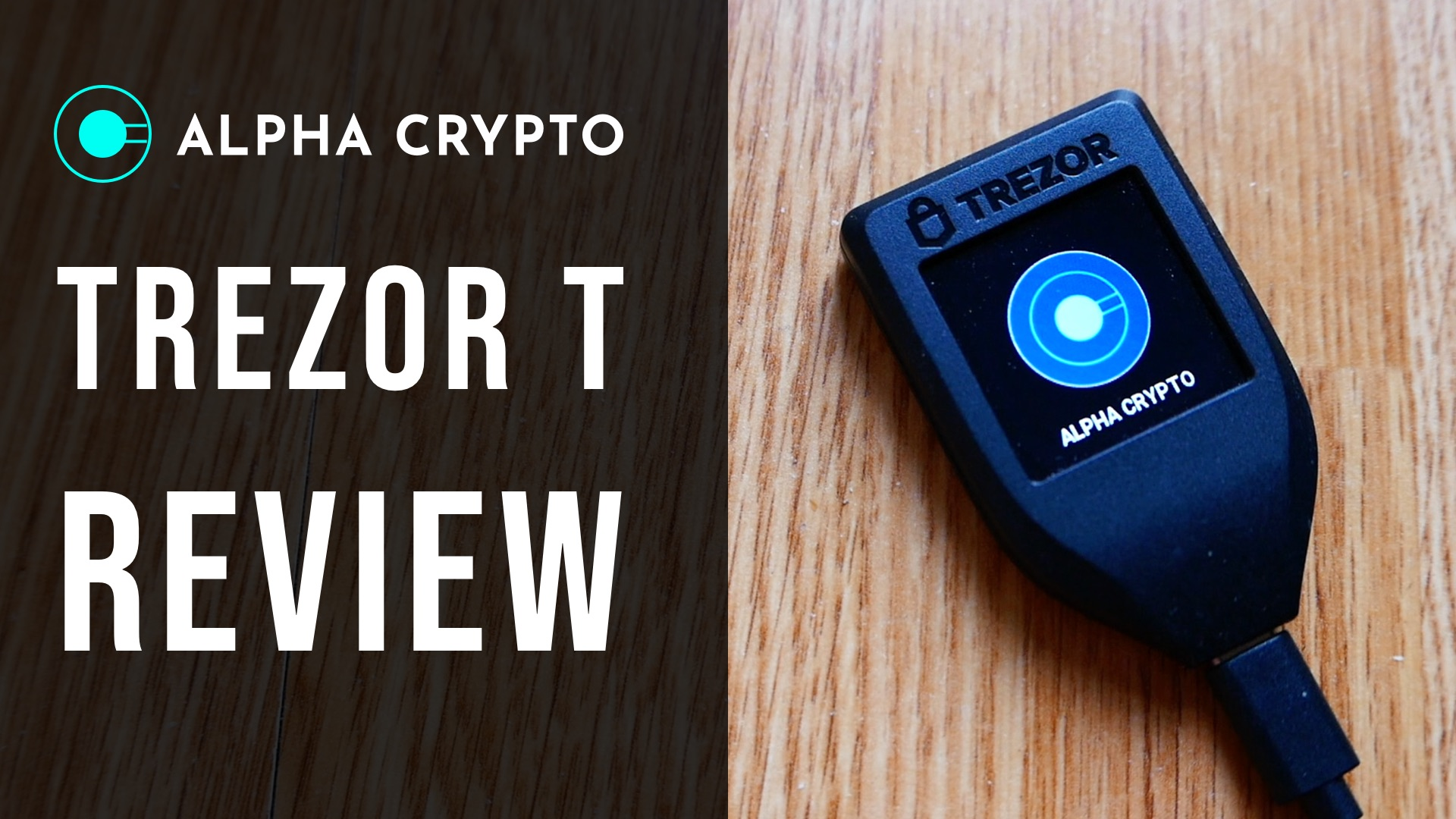 Trezor T review